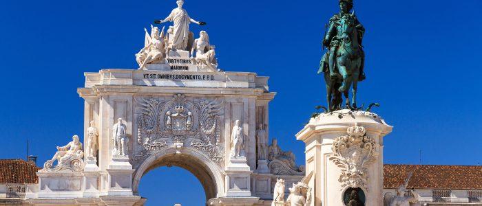 Lisbon Statues