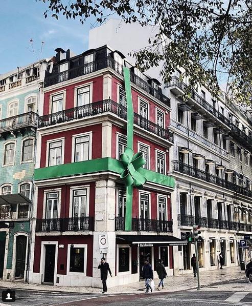 Lisbon Avenida da Liberdade.