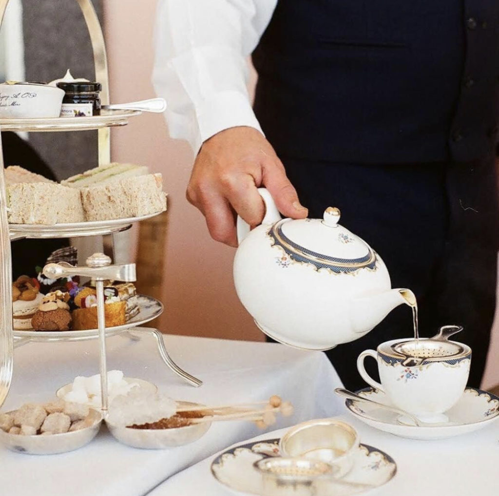 Afternoon tea at Belmond Reid's Palace in Madeira