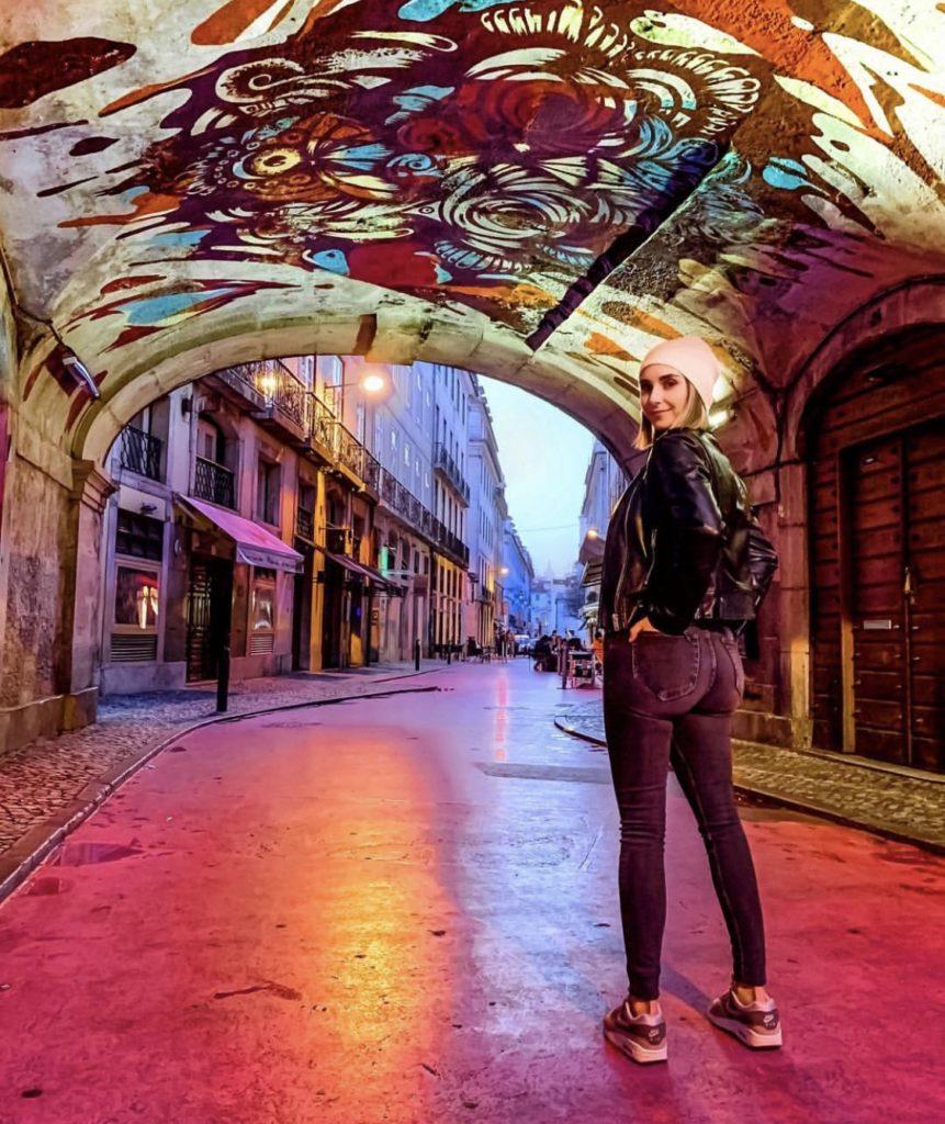 art works Pink Street