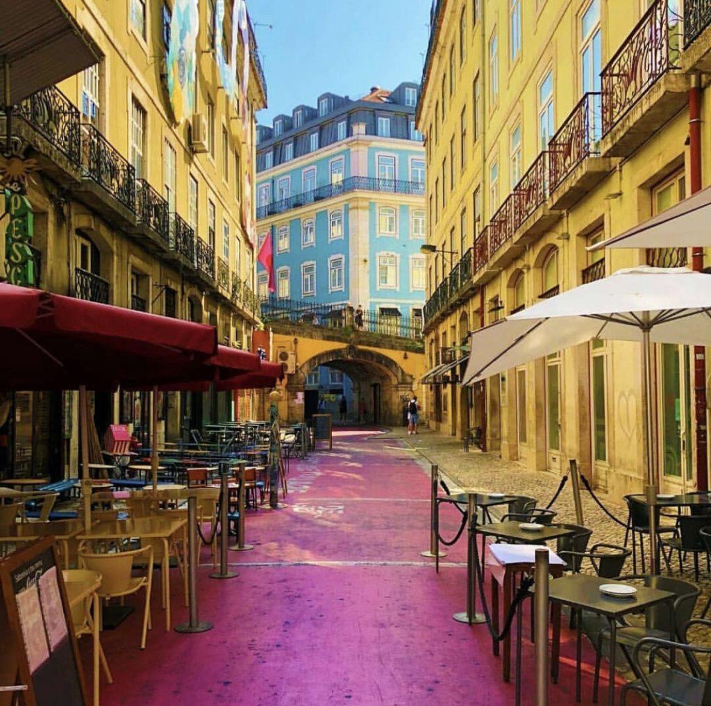 Pink Street Terraces