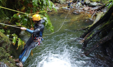 Canyoning in the Azores, Tour Azores Travel